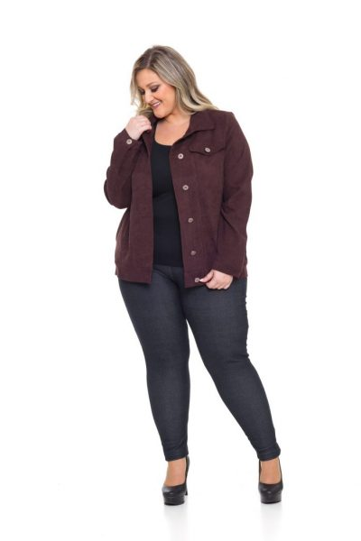 1052 Jaqueta Veludo Cotelê 1043 Legging Cotton Jeans